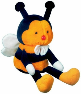 Barnaby Bee-The Mascot Of Diabetes Australia. Cute!