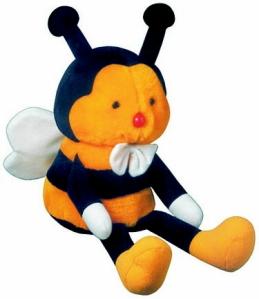 Barnaby Bee-The Mascot Of Diabetes Australia. Cute!