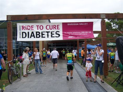 "The Hugely Successful ""RIDE TO CURE DIABETES."""